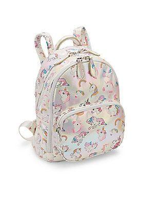 Bari Lynn Girl s Iridescent Unicorn Backpack. Bari Lynn Girl s Iridescent  Unicorn Backpack Back To School Backpacks 2d214a84b2362