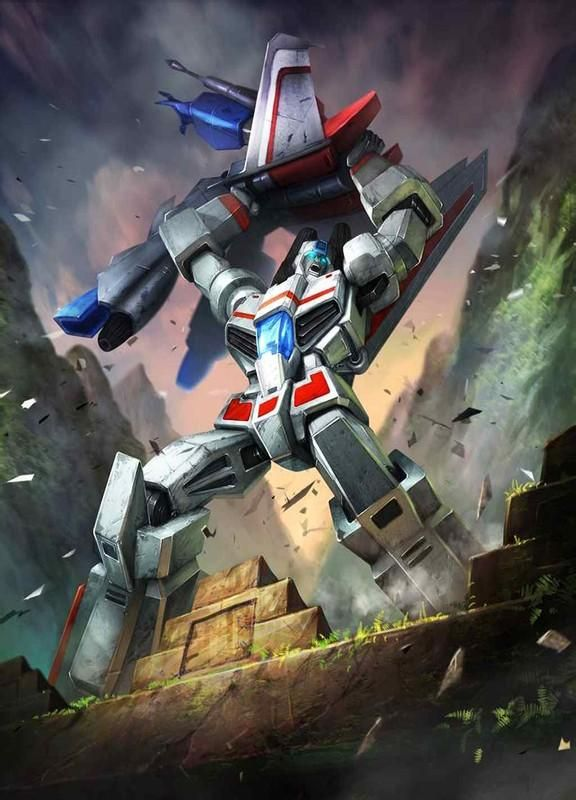 Autobot Jetfire (Skyfire) Artwork From Transformers Legends Game