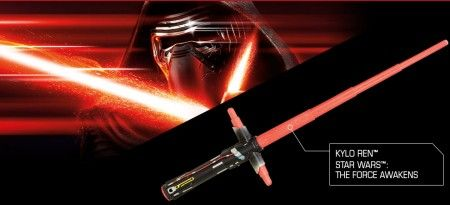 Electronic Lightsaber form Star Wars:The Force Awakens | LionLio - new products everyday!