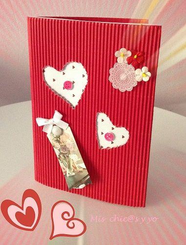 En esta ocasión el reto infantil de Manualidades con mis hijas consiste en hacer una manualidad para niños con formas de corazón. Pensando en que San Valentín está cerca hemos aportado una tarjeta ...