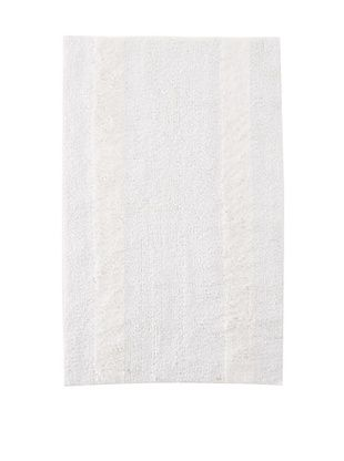 63% OFF Bella Letto Heather Stripe Rug (White/Eucalyptus)