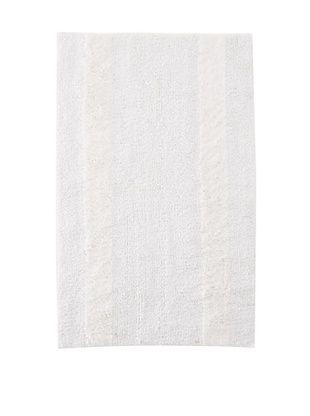 50% OFF Bella Letto Heather Stripe Rug (White/Eucalyptus)