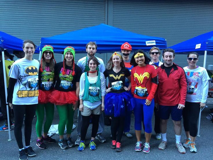 SuperHero 5k - Cambridge 2014