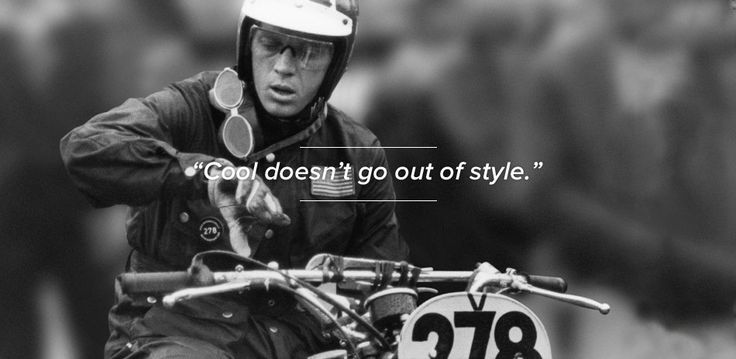 """""""Cool doesn't go out of style""""  #stevemcqueen #cool #aspecto www.aspecto.co.uk"""