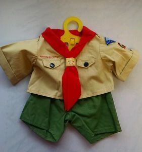 "build a bear clothes Boys | ... about Boy Scout Outfit 15"" 16"" teddy bear build a bear clothing"