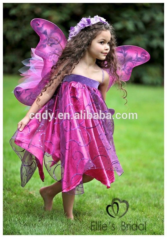 children's butterfly costume   2015 good quality kids carnival costumes butterfly strapless costumes ...