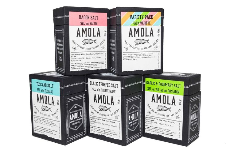 Salts & seasonings to elevate your taste experience to new levels!