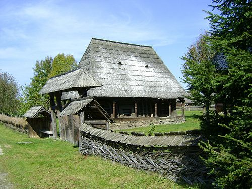 Photos of of one the most beautiful open-air museum in Romania, the Maramures Village Museum.
