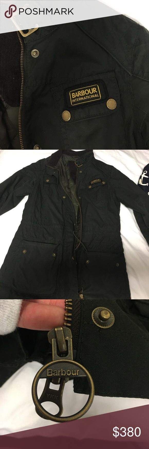 AUTHENTIC BARBOUR INTERNATIONAL I'm selling Barbour international jacket at a really good price!!!! Barbour is super expensive but I'm down for good negotiations :) Barbour Jackets & Coats