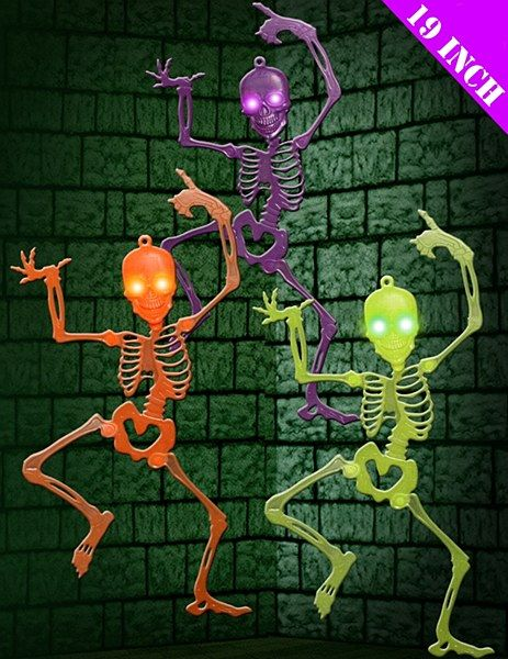 light up skeleton orange here at partyworld we have a great selection of halloween scene setters - Light Up Halloween Decorations
