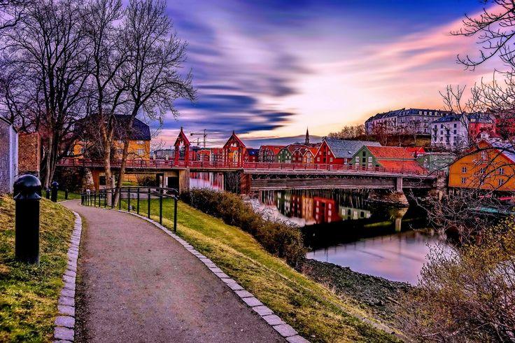 Trondheim, Gamlebybro and Bryggen by Aziz Nasuti on 500px