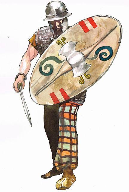 La guerre des Gaules (Tarek et Vincent Pompetti).  Illustrations: Vincent Pompetti