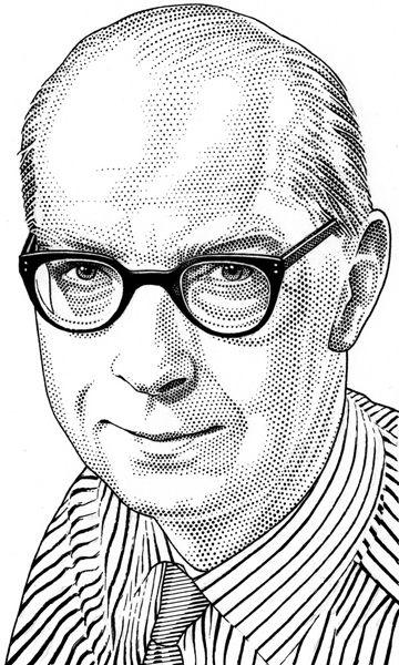 Philip Larkin By Leib Chigrin Portrait Portrait Illustration Still Life Art