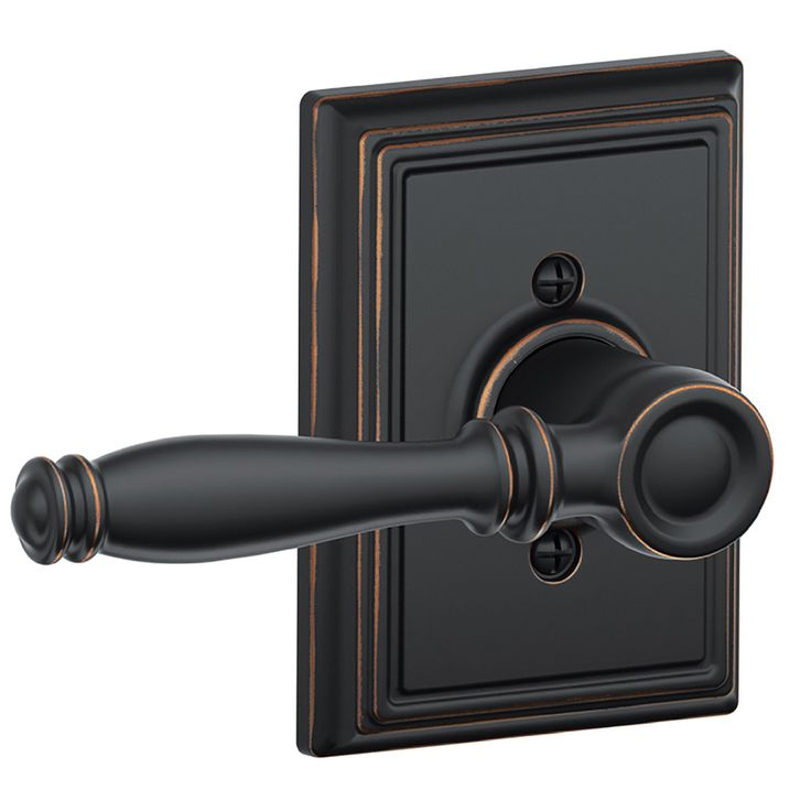 Schlage F Decorative Addison Collections Birmingham Aged Bronze Dummy Door  Lever F170 Bir 716 Add