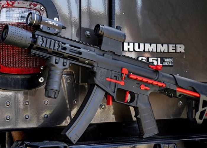 King Arms PDW 9mm SBR At Evike com | оружие | Airsoft