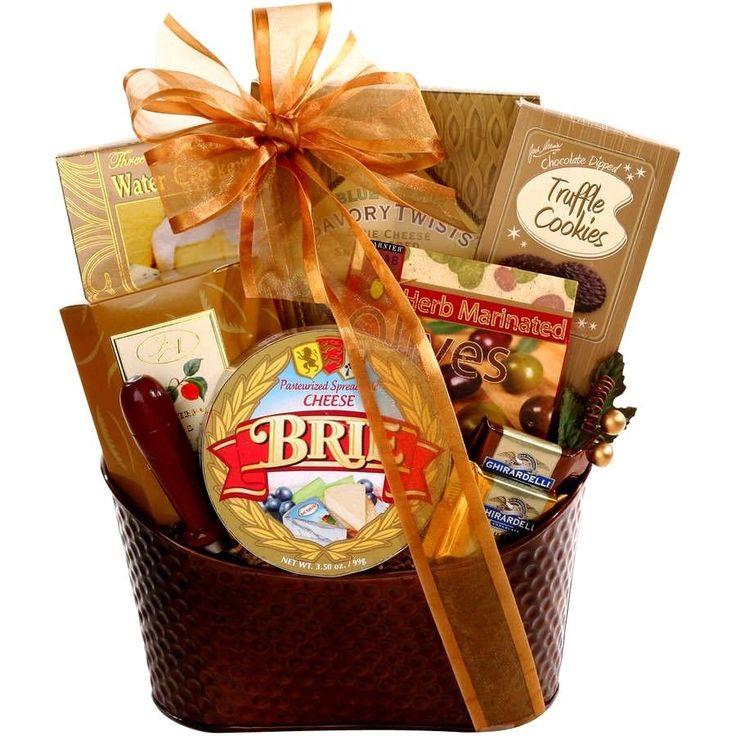 #Christmas #Goodie #Gift #Basket #Tis the #Season #Holiday 10 pc #Gourmet #Snack #Treats