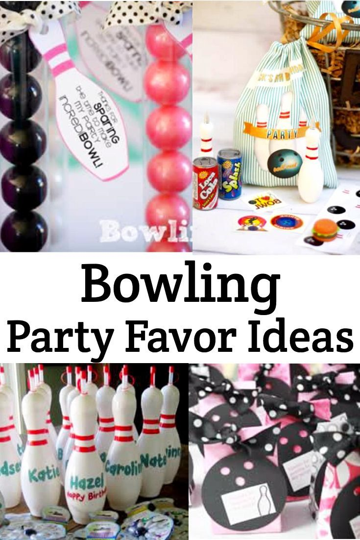 Bowling Party Favor Ideas Bowling Birthday Party Bowling Birthday Party Favors Bowling Party Favors