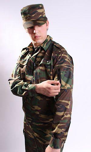 18 век военный костюм