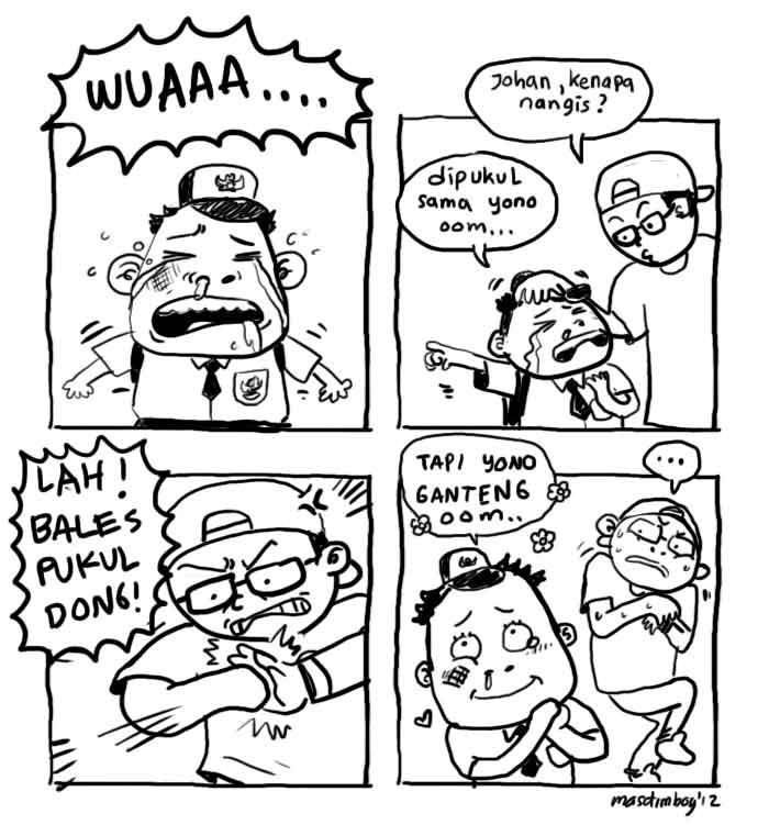 Komik Strip baru (ngakak) paret(2) - Kaskus - The Largest Indonesian Community