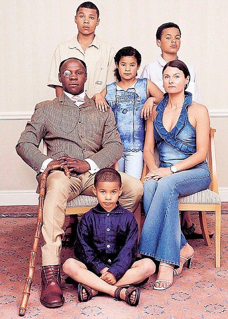 Chris Eubank and family 2008