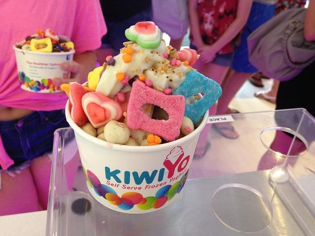 We love seeing your froyo creations @KiwiYoNZ #GetCreative #FroyoFun #KiwiYo #TreatYoSelf