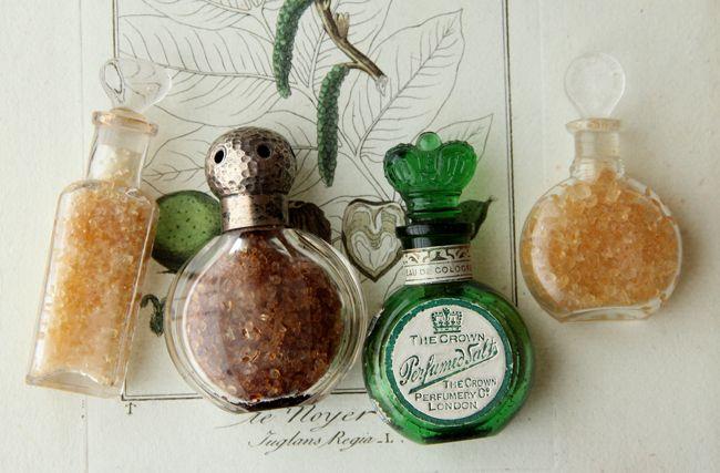 Tiny, antique bottles....so pretty