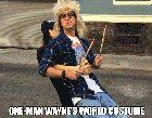 [Self] I created the Wayne's World 1-man costume (yes really). More images videos and links in comments. (x-post from r/gifs)