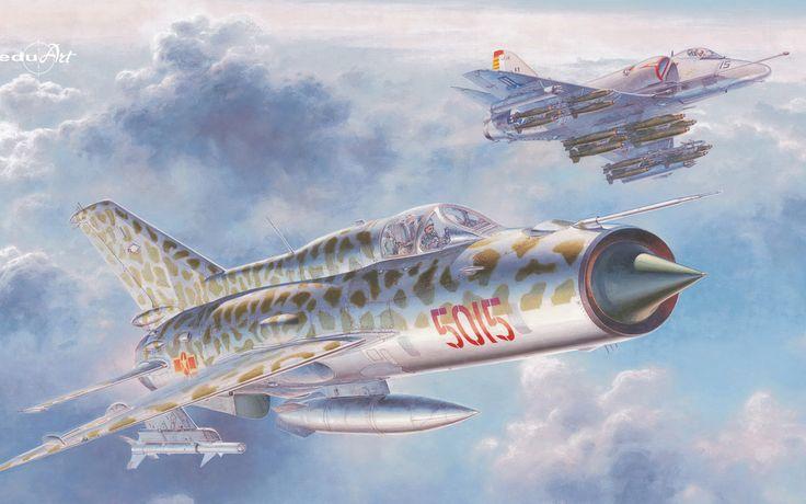 https://flic.kr/p/SkSF6c   Wallpaper_6813_Aviation_MiG-21PFM
