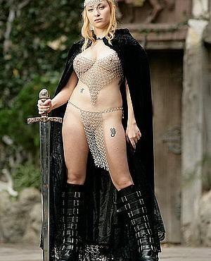 Medieval fantasy women warriors nude