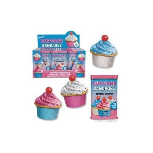 Accoutrements Large Cupcake Bandages Novelty | ToyZoo.com