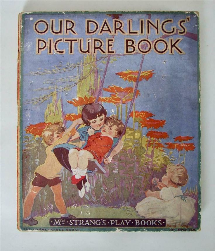 Our Darling's Picture Book, Mrs Strang Play Book