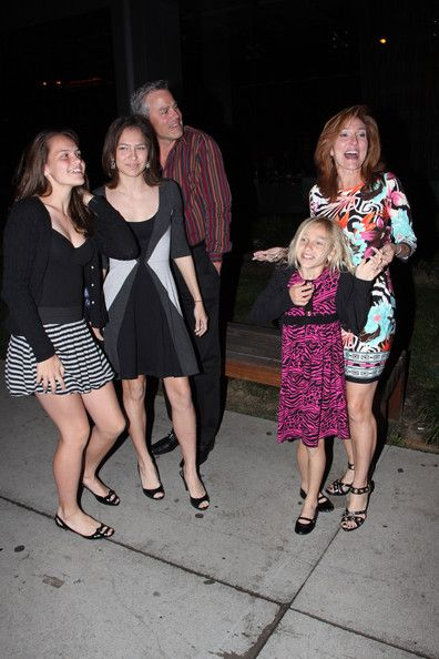 "Marilyn Milian Photos Photos - Judge Marilyn Milian of ""The People's Court"", her husband Judge John Schlesinger and their three children investigate the BOA Steakhouse in West Hollywood. - Marilyn Milian in West Hollywood"