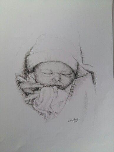 Thijs, getekend door Marian Plomp