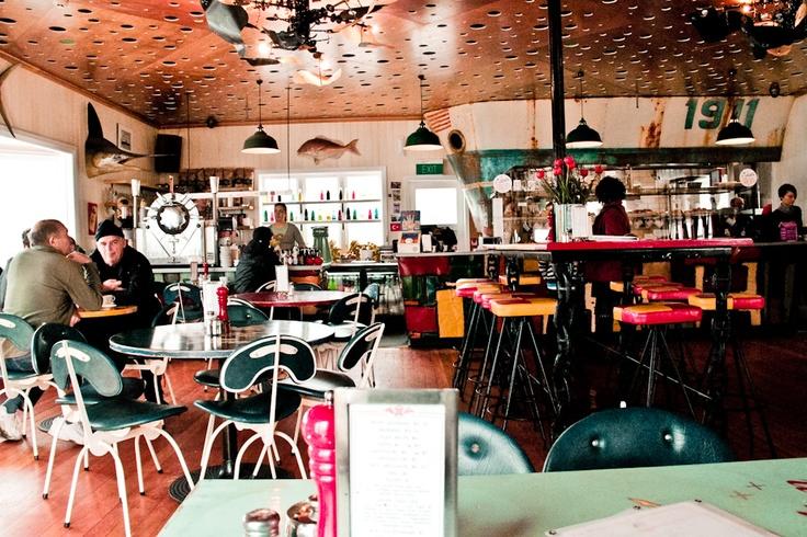 Maranui cafe, wellington, NZ