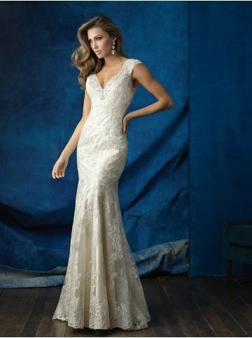robe de mariage dentelle fourreau