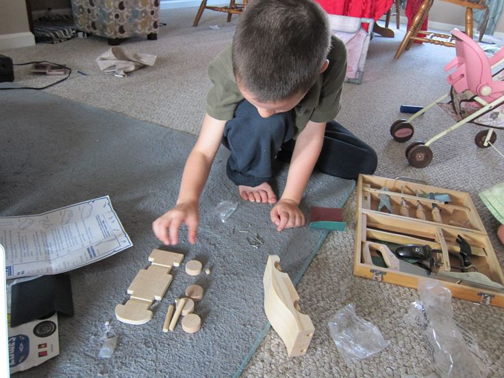 Innovative Wood Working With Your Toddler  Building Future Engineers