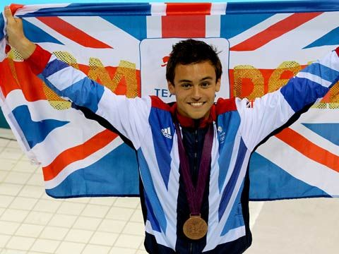 Diver Tom Daley from the UK. Youngest ever British Olympian @ age 14.