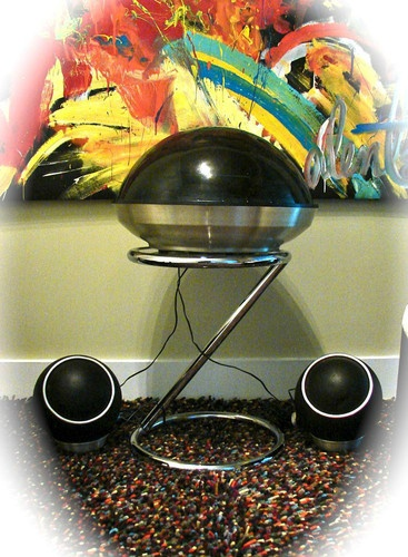 70s APOLLO by Electrohome Eames Space Age Stereo