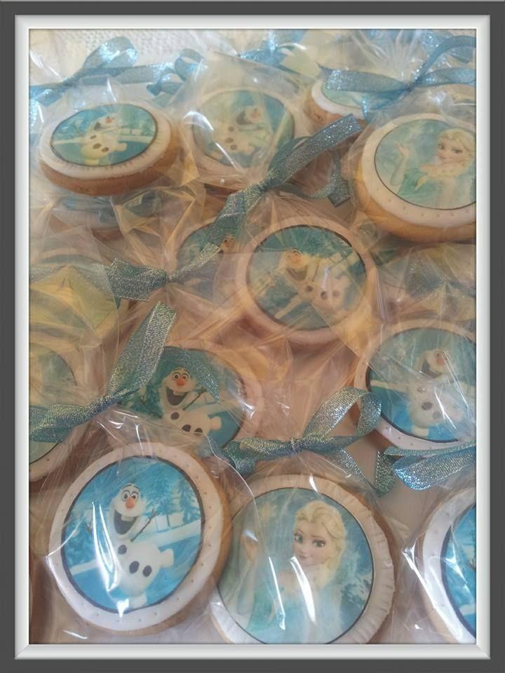 biscotti decorati FROZEN