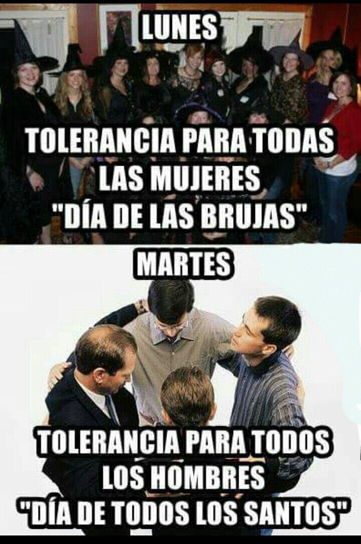 Tolerancia para los santos 😂