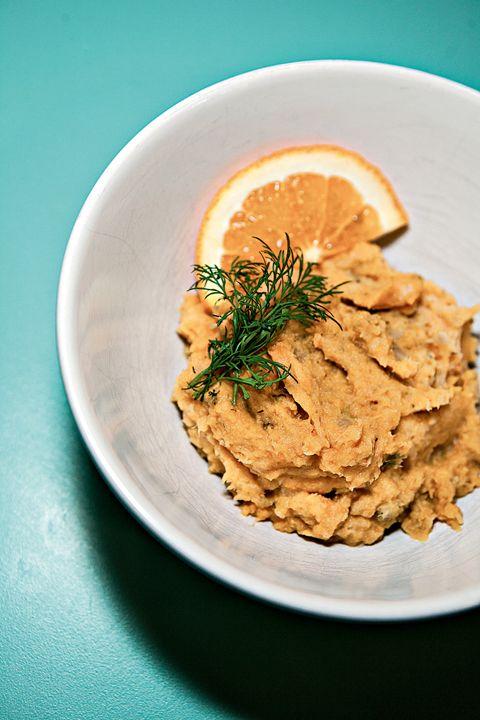 Bakt torsk ... med appelsin, fennikel og søtpotet
