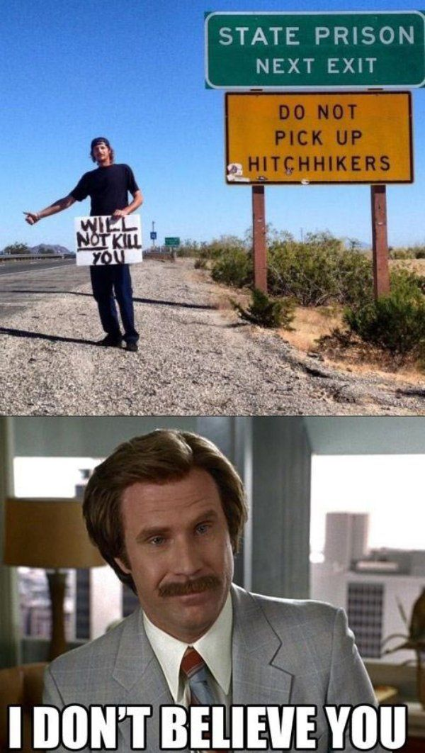 Hitchhikers  // funny pictures - funny photos - funny images - funny pics - funny quotes - #lol #humor #funnypictures