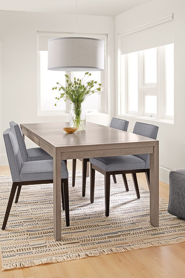 Walsh Modern Extension Dining Table Modern Dining Tables