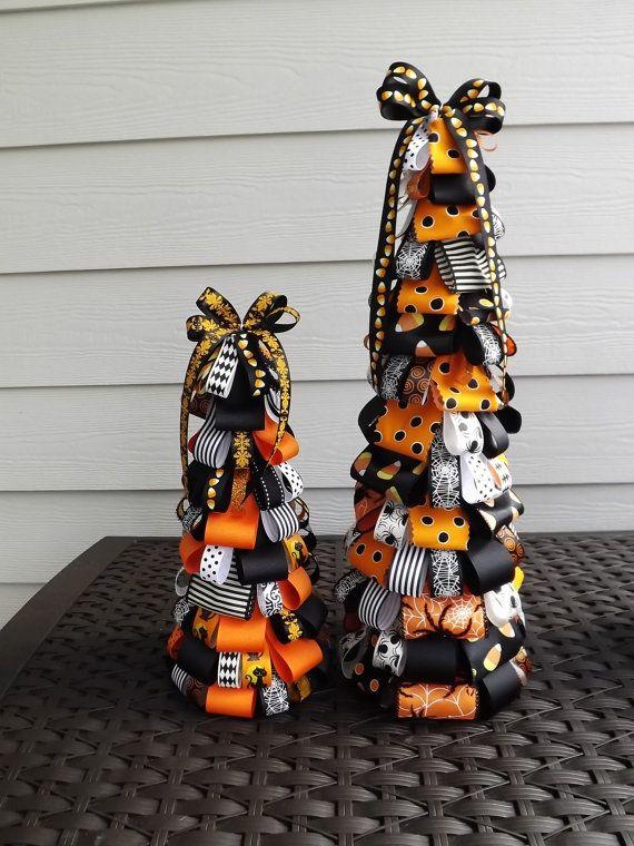 Halloween Ribbon Tree