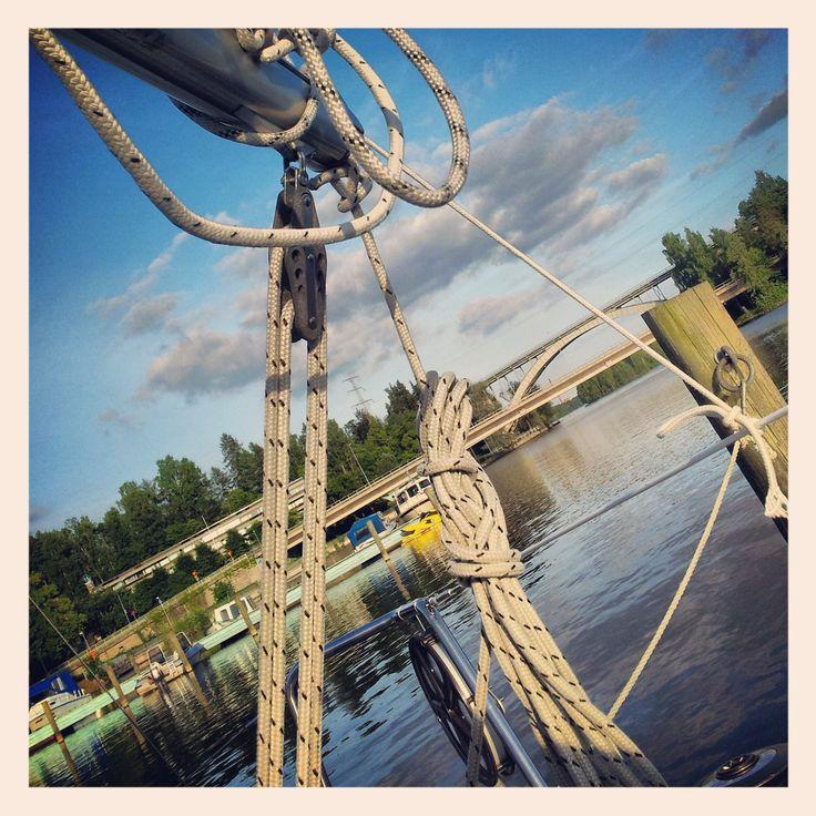 Sailing, Heinola, Finland