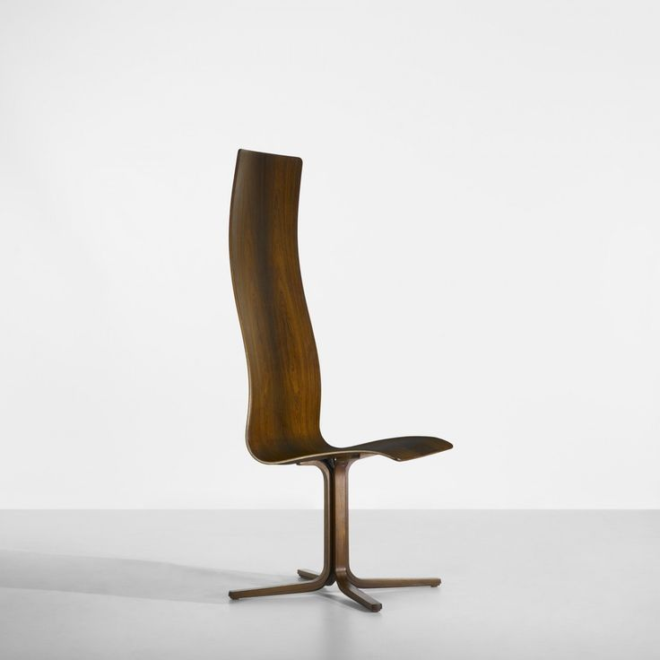 Oxford chair for St. Catherine's College,  Fritz Hansen, Denmark, 1963