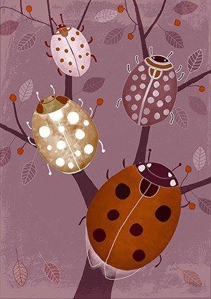 #ladybird #illustration #children