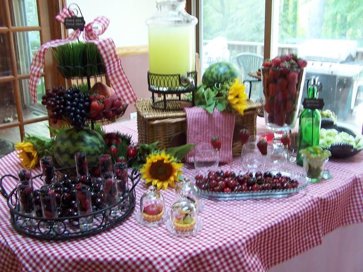 indoor picnic theme picnic theme pinterest picnics. Black Bedroom Furniture Sets. Home Design Ideas