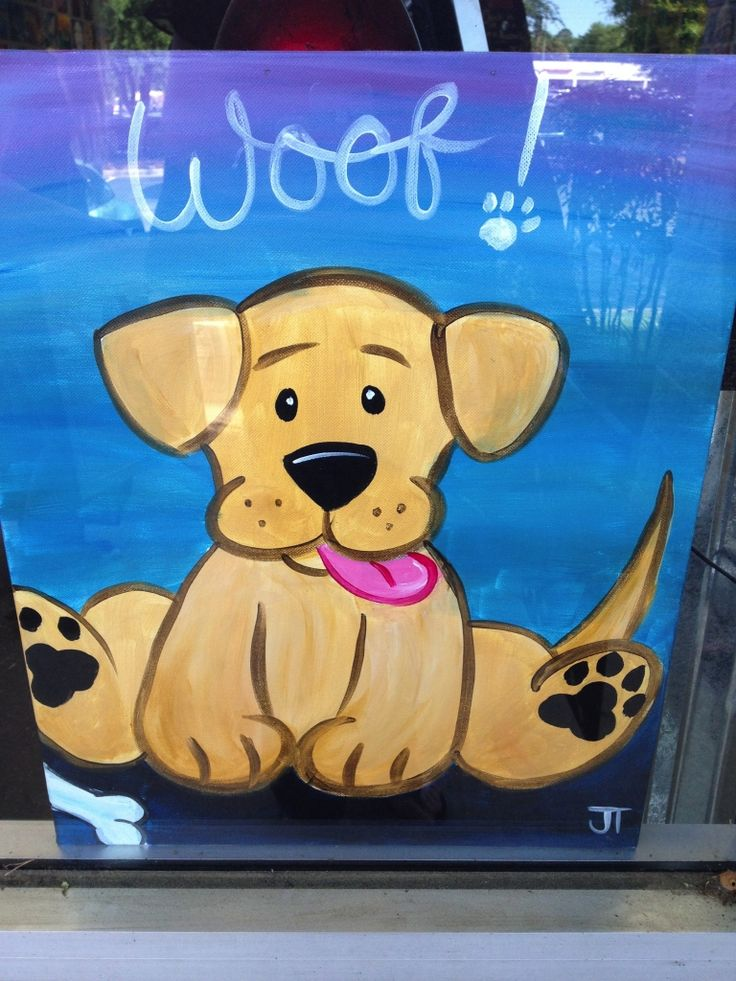 Animal paintings for kids images for Cute painting ideas for kids