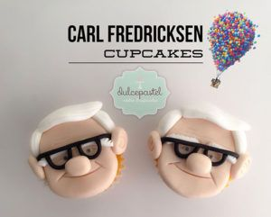 Cupcakes de Abuelo en Medellín por Dulcepastel.com - Carl Fredricksen Cupcakes  #carlfredricksen #carlfredricksencupcakes #up #upunaaventuradealtura #upcupcakes #carl&ellie #carlandellie #pixar #waltdisney #waldisneypictures #russell #dug #tortasmedellin #tortaspersonalizadas #tortastematicas #cupcakesmedellin #tortasartisticas #tortasporencargo #tortasenvigado #reposteriamedellin #reposteriaartistica